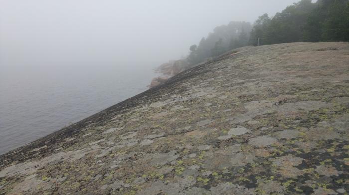 kotka luontopolku kallio
