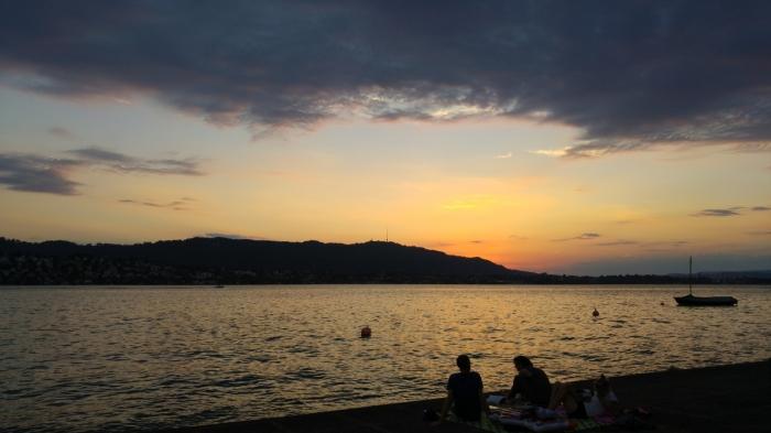 uetliberg auringonlasku