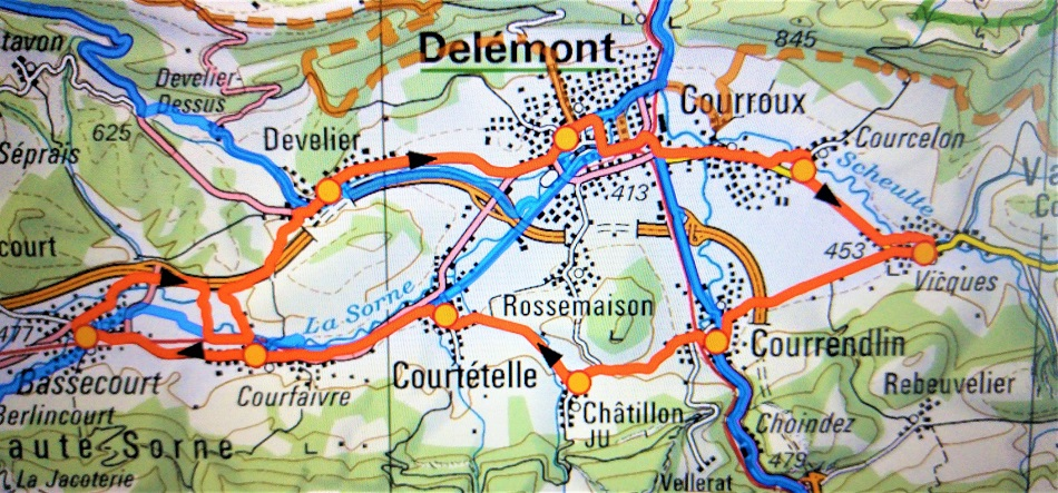delemont kartta p