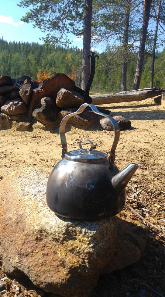 lappi luonto 14 kahvipannu