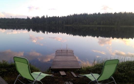 lappi luonto 2 järvi ja tuolit