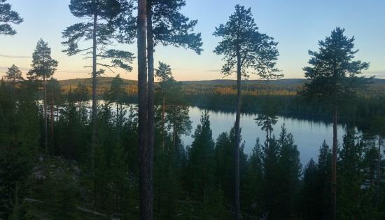 lappi luonto 9 iltavalo järvi