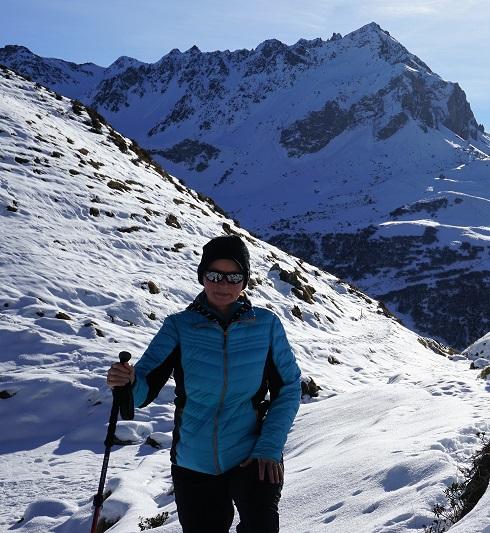 helena talvisella vuorella p